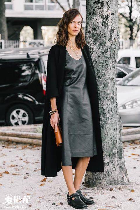 冬季长版针织开衫搭配,打造慵懒的时尚感